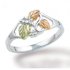 Black Hills Sterling Ezüst & 12K Arany Gyűrű