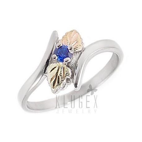 Black Hills Sterling & 12K Arany Gyűrű