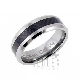 Tungsten Carbide Karikagyűrű Carbon Berakással
