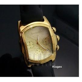 Techno Swiss Férfi Karóra Gyémánt Drágakövekkel