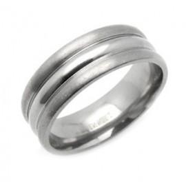 Titánium Karika Gyűrű