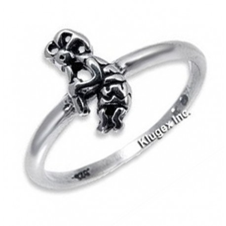 Ezüst Gyűrű Kokopellivel