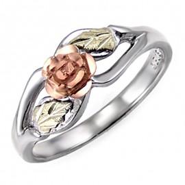 Black Hills Ezüst Gyűrű Rózsával
