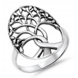 Az Élet Fája - Sterling Ezüst Gyűrű