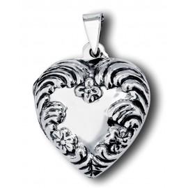 Ezüst Nyitható Szívmedál