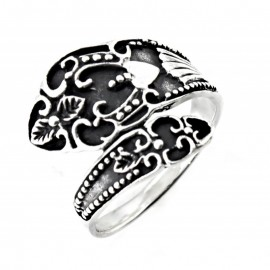 Ezüst Vintage Stílusú Gyűrű