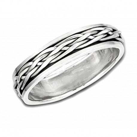 Ezüst Pörgethető Gyűrű