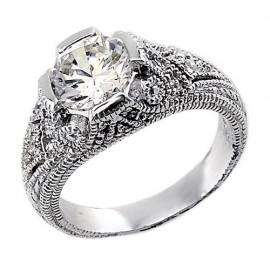 Ezüst Gyűrű Cirkóniáva